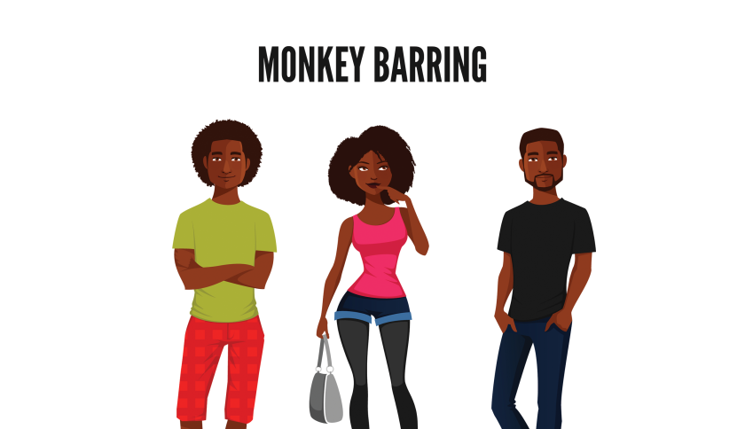 Monkey-Barring (1)